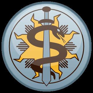 Iekšlietu ministrijas poliklīnikas logo